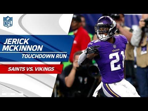 Sherels' Huge Punt Return Sets Up McKinnon's TD Run! | Saints vs. Vikings | NFL Divisional HLs
