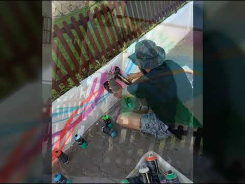 Marosch o maior grafiteiro de Juquitiba e São Lourenço da Serra em mais um trampo em SLS