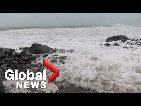 Hurricane Dorian: Storm surge creating biggest danger in Nova Scotia