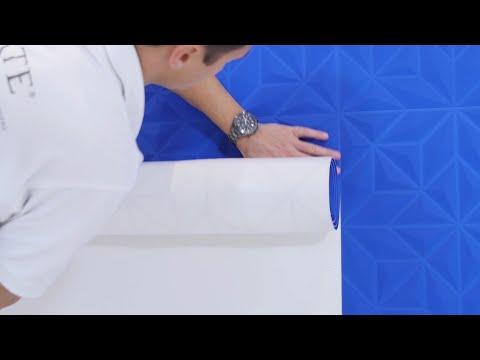 3D-Wandbekleidung tapezieren