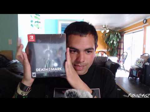 Death Mark Limited edition unboxing (Switch)
