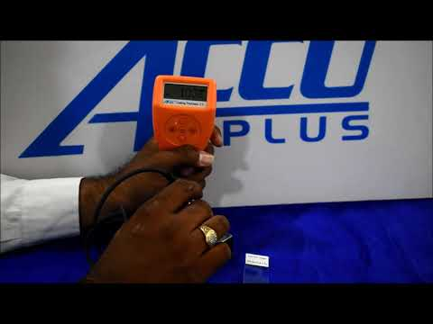 Digital Coating Thickness Gauge With Bluetooth Connectivity  Accu456