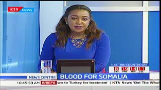 Eastleigh community hold blood donation exercise to support Somali attack victims at Sunrise Mall