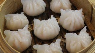 How to make HAR GOW Steamed Shrimp Dumplings - 蝦餃 - Morgane Recipes