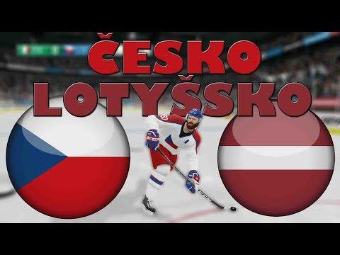 ČESKO - LOTYŠSKO | MS 2019 | NHL 19 | CZ/SK
