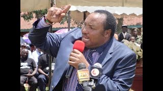 Apart from the moving of rivers suggestion, here's Waititu's message to DP William Ruto