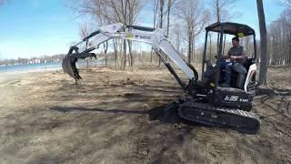 Bobcat E-35 Mini Excavator Demo | Ward's Equipment Rental
