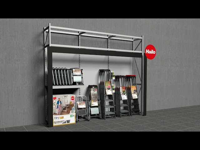 HAILO-Ladenbau-Modulsystem