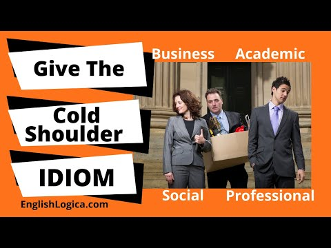 Give The Cold Shoulder - Idiom