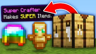 Minecraft, But Crafting Is OP...