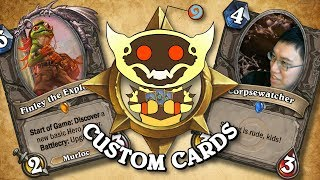 TOP CUSTOM CARDS OF THE WEEK #26 | Card Review | Hearthstone