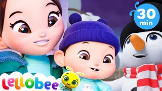 Magic Snowman Song + More Nursery Rhymes & Kids Songs - ABCs and 123s | Little Baby Bum