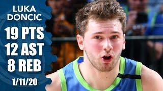 Luka Doncic struggles from the field by shooting just 4-of-15, but still collects a double-double of 19 points and 12 assists in the Dallas Mavericks' home victory against the Philadelphia 76ers. #NBA ✔ Subscribe to ESPN+ https://plus.espn.com/ ✔ Get the ESPN App: http://www.espn.com/espn/apps/espn ✔ Subscribe to ESPN on YouTube: http://es.pn/SUBSCRIBEtoYOUTUBE ✔ Subscribe to ESPN FC on YouTube: http://bit.ly/SUBSCRIBEtoESPNFC ✔ Subscribe to NBA on ESPN on YouTube: http://bit.ly/SUBSCRIBEtoNBAonESPN ✔ Watch ESPN on YouTube TV: http://es.pn/YouTubeTV  Exclusive interviews with Rachel Nichols https://urlzs.com/jNURe Stephen A. Smith on ESPN https://urlzs.com/W19Tz  ESPN on Social Media: ► Follow on Twitter: http://www.twitter.com/espn ► Like on Facebook: http://www.facebook.com/espn ► Follow on Instagram: www.instagram.com/f/espn  Visit ESPN on YouTube to get up-to-the-minute sports news coverage, scores, highlights and commentary for NFL, NHL, MLB, NBA, College Football, NCAA Basketball, soccer and more.   More on ESPN.com: https://www.espn.com