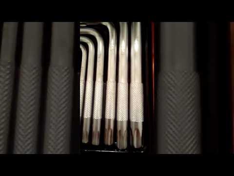 Llaves torx t25 t3 t4 t4 5 t50 t55 caja metal