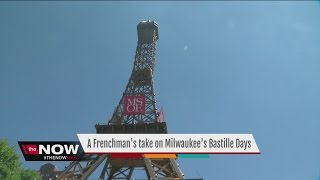 Man travels from France for Milwaukee Bastille Days