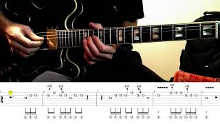 Four Basic Blues Licks – 4th Position