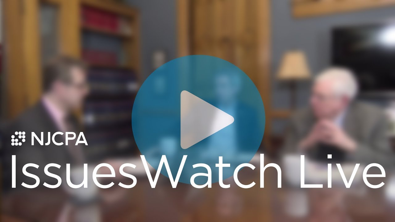 NJ Budget Overview | IssuesWatch LIVE | March 21, 2019