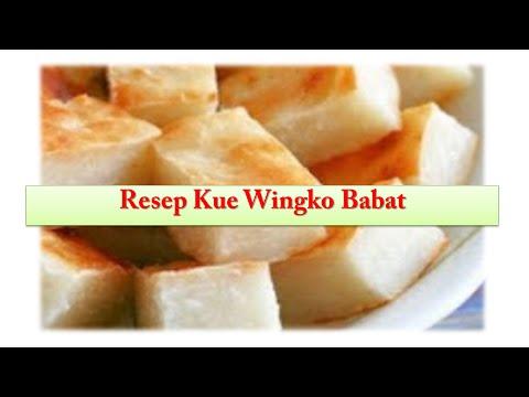 Video Resep Kue Tradisional Wingko Babat Lezat