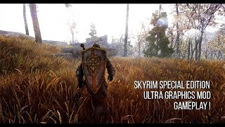 Skyrim Special Edition Ultra graphics mod gameplay 2019!!!