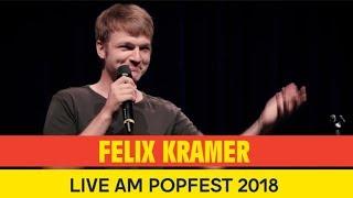 Felix Kramer - Vielleicht bist es eh du || live @ Popfest 2018