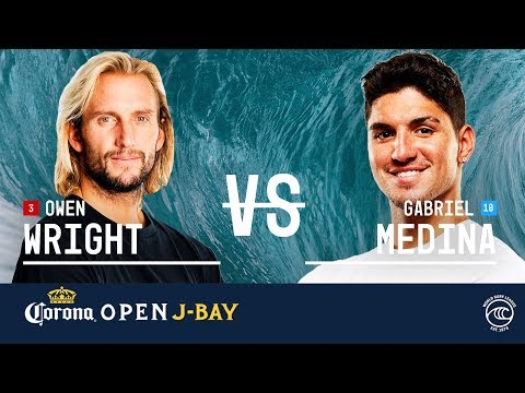 Owen Wright vs. Gabriel Medina - Quarterfinals, Heat 1 - Corona Open J-Bay 2019