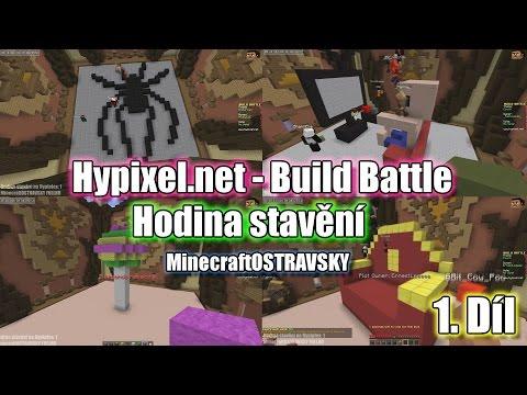 #1 | Hodina stavění - Hypixel.net | Naše krásné výtvory :D | MinecraftOSTRAVSKY | [FULLHD]