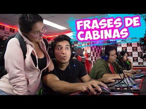 30 FRASES TIPICAS DE CABINAS ( DE INTERNET) - SAMIR VELASQUEZ