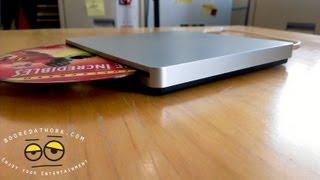 Tmart.com- Super Slim USB 2.0 Slot-In DVD-RW External Drive review
