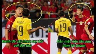 """Hé lộ lý do Mạnh""""gắt""""dằn mặt cả đội Malaysia,nghe xong ai cũng nể phục chiến binh máu lửa nhất ĐTVN"""