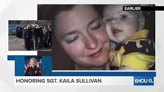 HONORING SGT. KAILA SULLIVAN: Funeral service for fallen Nassau Bay police sergeant