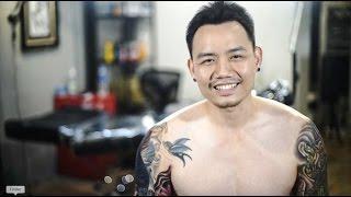 Mimp Tattoo รอยสักปลากัดไทย คำแนะนำสำหรับคนที่อยากไปทำงานสักที่เกาหลี