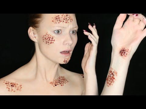 Fear of Holes Makeup Tutorial | Special FX Series (CC)