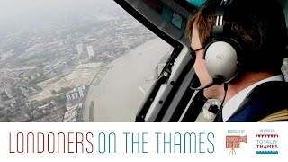 preview picture of video 'Chris Mann, who flies the London Helicopter sightseeing tours down the Thames - Londoner #34'