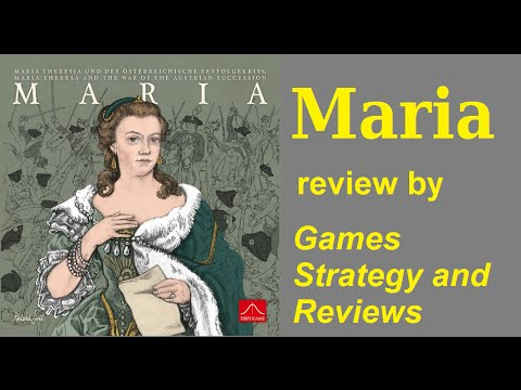 Games Strategy and Reviews - Maria video review