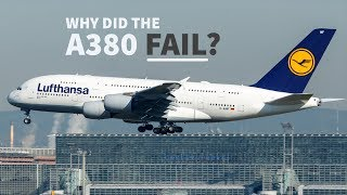 Why The Airbus A380 Is A Failure