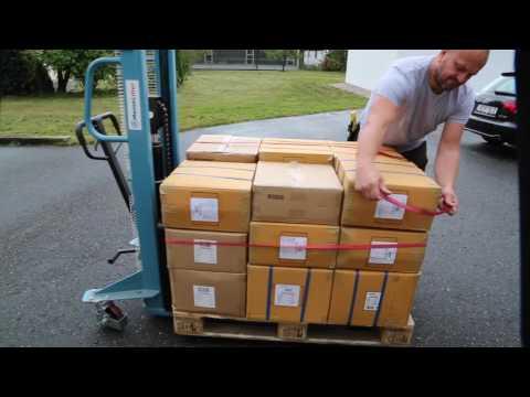 Palettengummis - Ladungssicherung Warentransport - www.spanngummishop.de