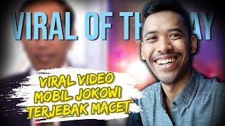 VIRAL HARI INI: Video Iring-iringan Mobil RI 1 Terjebak Macet, Presiden Jokowi Curhat