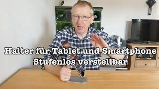 Stufenlos einstellbarer Tabletständer von #Lamicall für iPad, iPad Pro, Surface Pro, Android Tablet