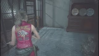RESIDENT EVIL 2 Claire 06 Finding the Jack