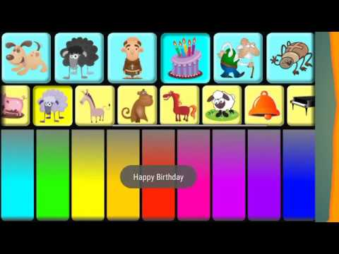 Kids TV GF Kids Animal Piano Pro Game For Children 2017