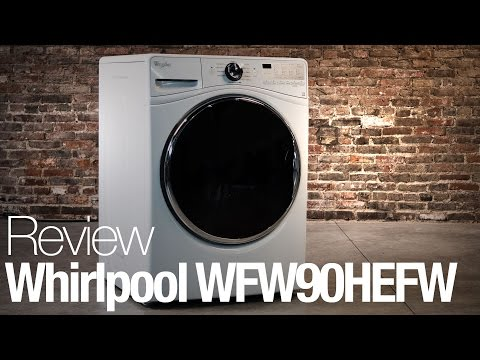 Whirlpool WFW90HEFW Washing Machine Review