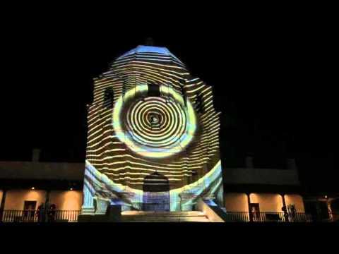 Video Mapping Obispado | Monterrey, NL  [Completo]