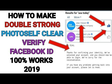 Download How To Make Double Strong Verify Facebook Id 2019