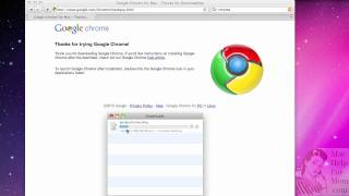 How to download and install Chrome for Mac