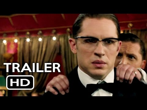 Legend Official Trailer #1 (2015) Tom Hardy, Emily Browning Crime Thriller Movie HD (видео)