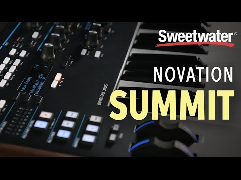Novation Summit Synthesizer Demo by Daniel Fisher