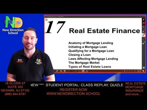 Real Estate Finance #realestatelicensing #mortgage - Part 1