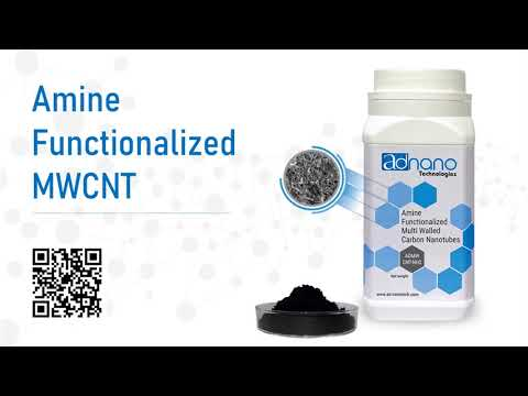 Amine Functionalized Multi-Walled Carbon Nanotubes, Nh2 Carbon nanotubes, Ad-Nano AD-MWCNT-NH2