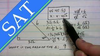 SAT - Triangles - 45-45-90