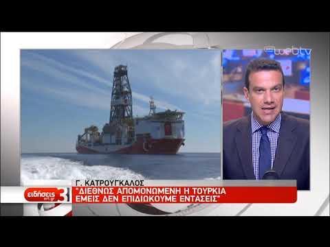 Πολιτική αντιπαράθεση για τις προκλήσεις της Άγκυρας | 10/06/19 | ΕΡΤ